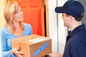 Package Delivery square